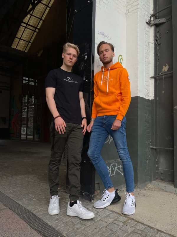 Freek and Thijmen modeling for Bigger Picture Clothing, a newly established slow-fashion brand that produces ethical fashion.