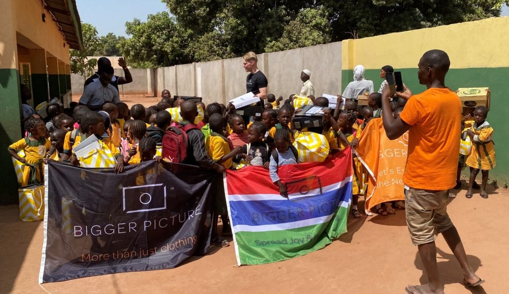 Fankanta school in The Gambia